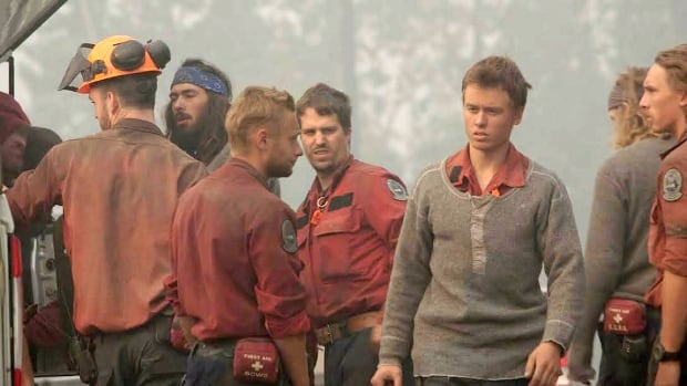 Firefighters B.C. wildfires