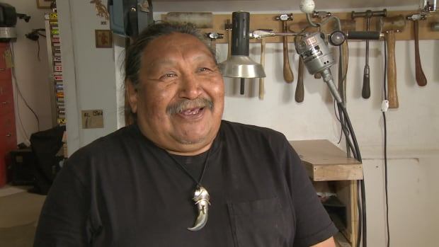 Iqaluit's Mathew Nuqingaq is the president of the Inuit Art Foundation and a jewellery and metalwork artist. 'I am happy it'll continue to be used,' he says of the trademark, in Inuktitut.