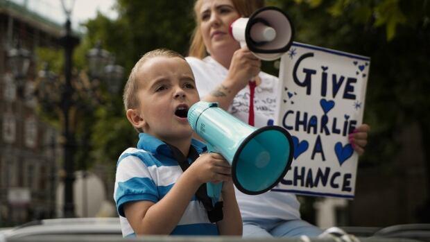 Kaylom Hoppe-Charlie Gard protest