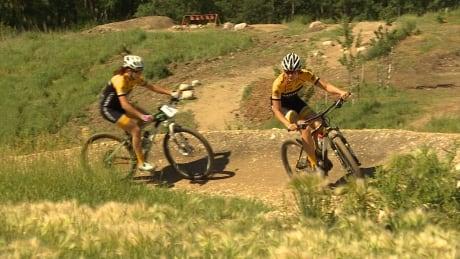 Team Manitoba mountain bikers