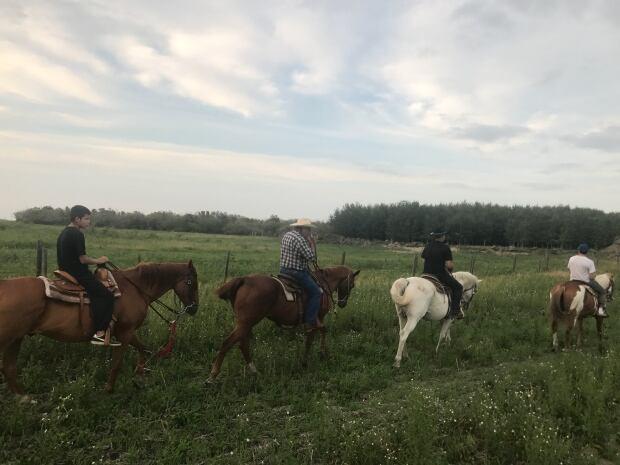 Patrick Buffalo group ride