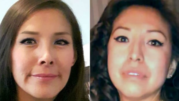 Police say sisters Glynnis Fox, left and Tiffany Ear were likely in the wrong place at the wrong time with the wrong people when they were killed. Their bodies were found in a burned-out car at a Calgary construction site on July 10.