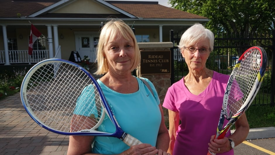 Rideau Tennis Club members waiting to be served bad news