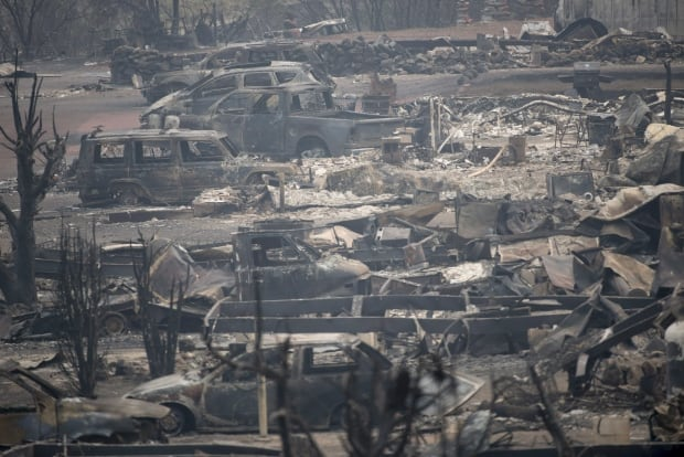 BC fire aftermath