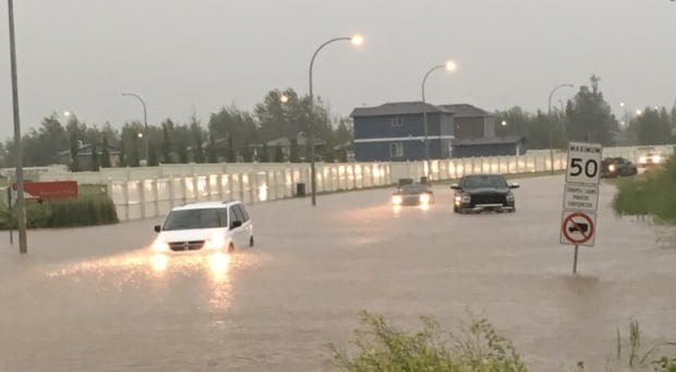 Slave Lake Flooding