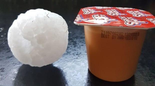 Pudding hail