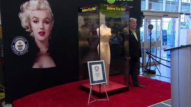 Marilyn Monroe dress on display at Saskatoon Save-On-Foods