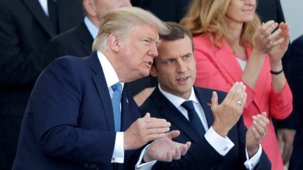 Trump Told Military 'I Want A Parade Like The One In France'