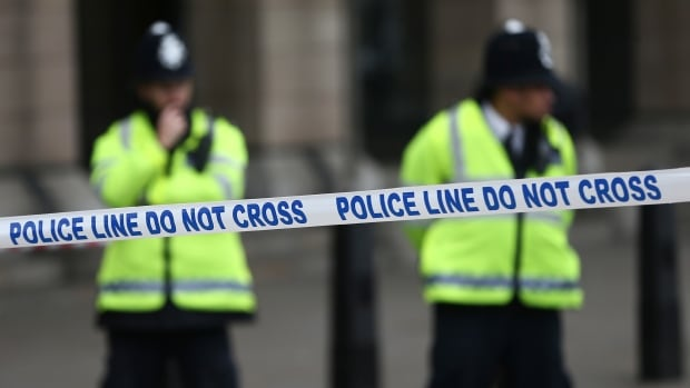 Police in London say a series of acid attacks, carried out by men on mopeds, started late Thursday — starting a pattern that was repeated across the city's east end.