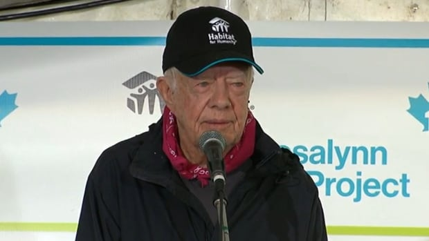 Former US President Carter discharged from Canadian hospital