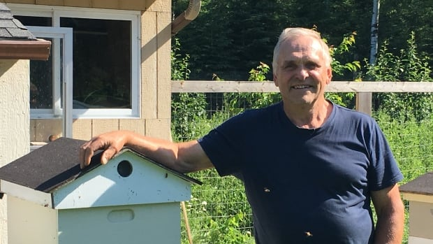 Beekeeper Rudy Kuchta was tending to a swarm earlier this month when he noticed one of his hives at the conservatory was missing.