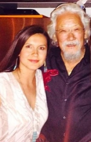 Melina Laboucan-Massimo and David Suzuki