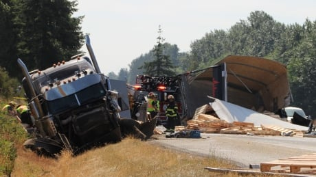 Hwy 1 Langley crash