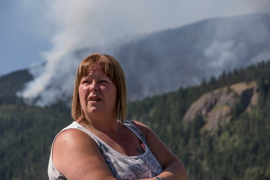 BC Wildfire Ronda miller Flames