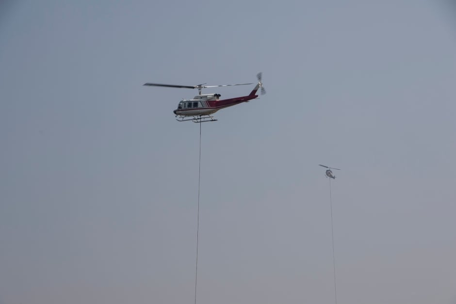 BC Wildfire Helicopters