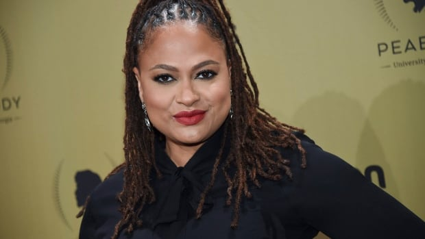 Director Ava DuVernay, seen here in May at the Peabody Awards in New York, presented a teaser for her upcoming film A Wrinkle In Time at Disney's fan expo Saturday in Anaheim, Calif.