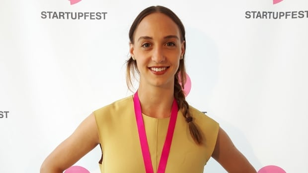 Ashely Werhun is the co-founder of Mentorly, and the winner of the CBC Montreal pitch competition during Startupfest.