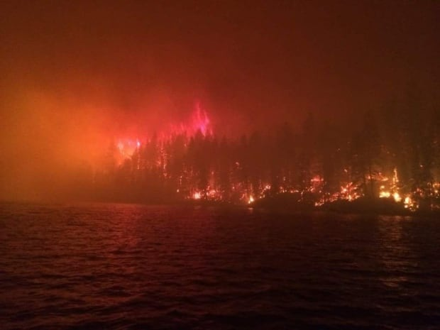 loon lake bc wildfire