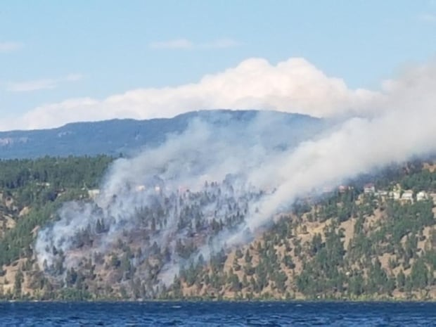 Officials say showers won't help BC wildfires, wind may fuel flames