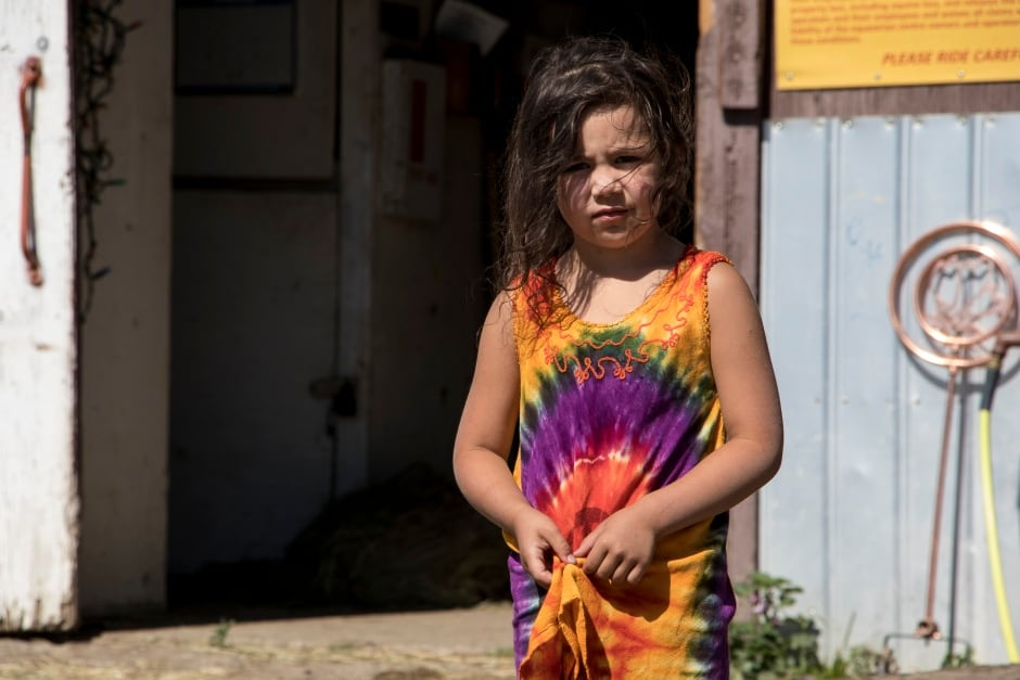 BC Wildfire Little Girl Evacuated