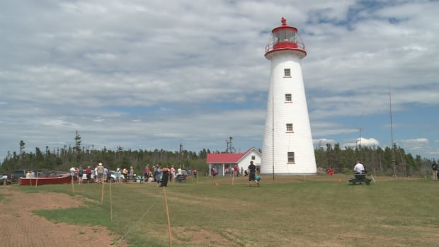 Between 15,000 and 20,000 people visit Point Prim lighthouse each year.