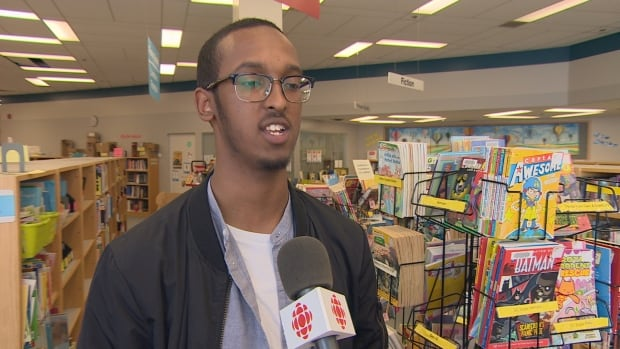 Edmonton-based slam poet Omar Farah says poetry helps him stay connected to his Somali heritage.