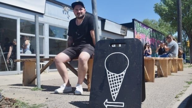 Fable Ice Cream owner Jordan Ethridge says he wants to maintain the family-friendly side of Riversdale.