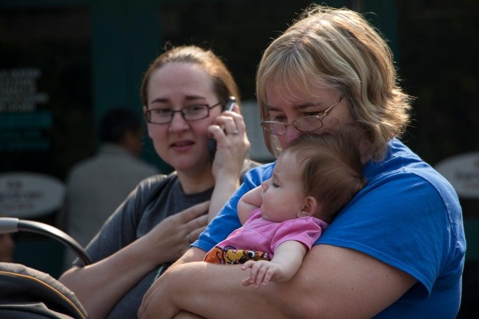 BC Wildfire Evacuation Centre Baby Children Williams Lake