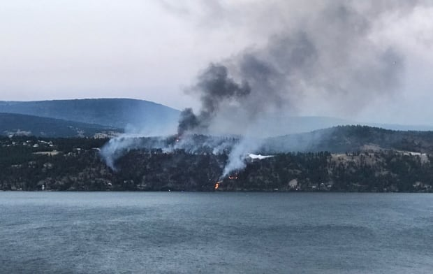 Lake Country B.C. wildfire