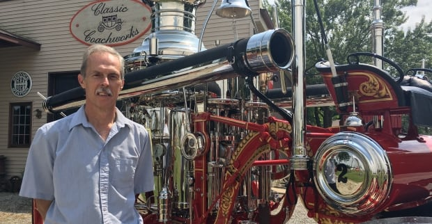 Stan Uher, owner of Classic Coachworks