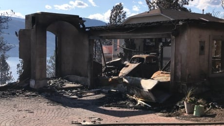 Lake Country Burned Out Home