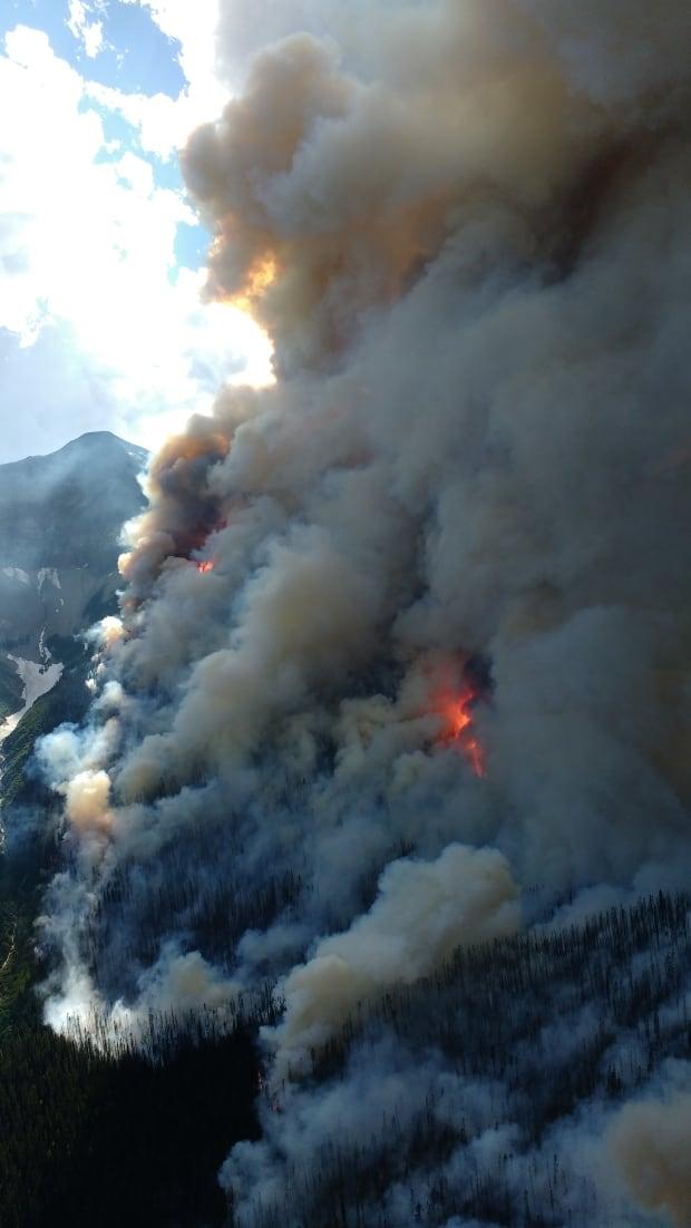 Verdant Creek fire