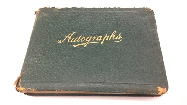 The autograph book was given to Margaret MacQueen on December 21, 1931.