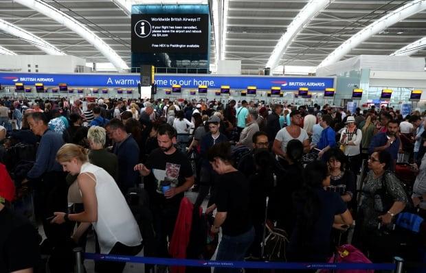 BRITAIN-AIRPORTS/BRITISHAIRWAYS