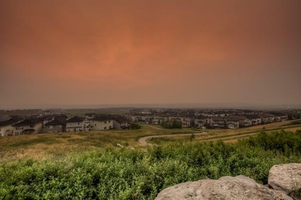 hazy smokey calgary