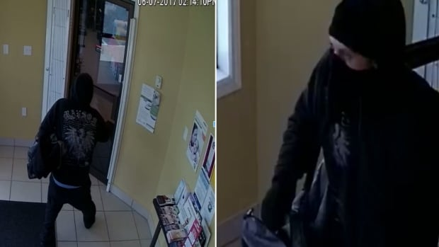 This man, who police allege entered Green's Pharmacy on C.B.S. on June 7, armed with a weapon, and demanded drugs, is still on the loose.
