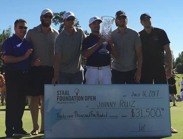 Staal Open Ruiz win