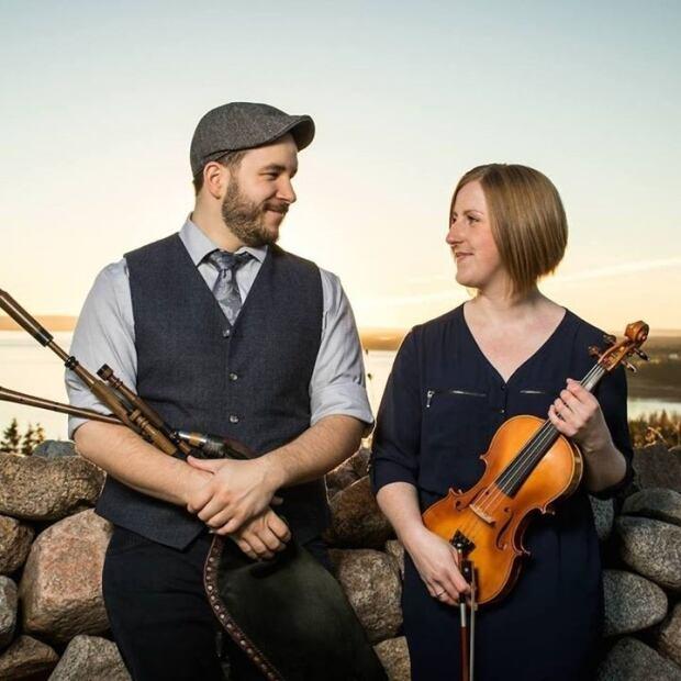 Ben Miller and Anita MacDonald