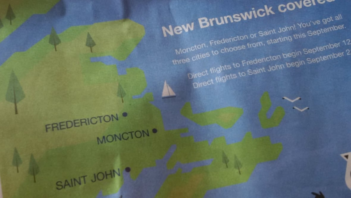 Porter airlines pushes fredericton closer to sea new for Porter canada