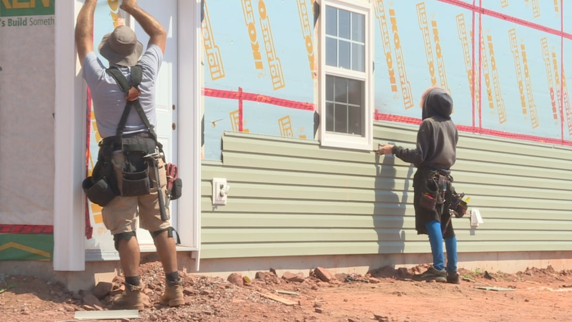 39 everyone is pretty much at their limit 39 business booming for Pei home builders