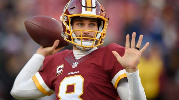 """Washington quarterback Kirk Cousins has turned down the team's long-term contract offer and instead will play under the """"franchise tag"""" for the second straight year."""