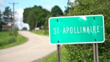 St-Apollinaire sign