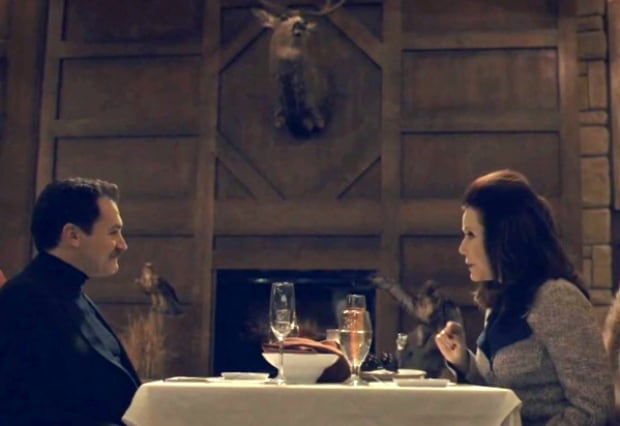 Fargo scene shot in the Bears Den restaurant