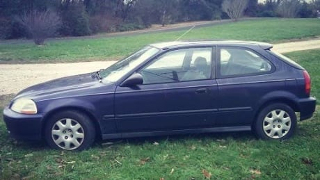 Purple Haze stolen Honda Civic