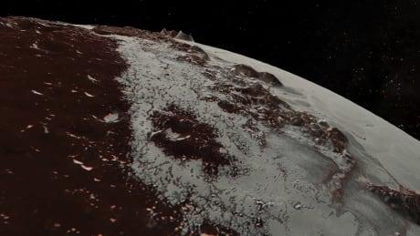 Pluto flyover