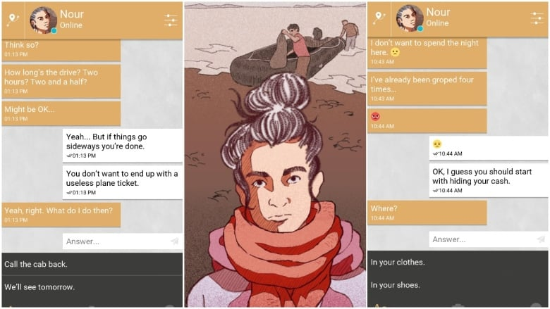 Mobile game Bury Me, My Love tracks a Syrian refugee's