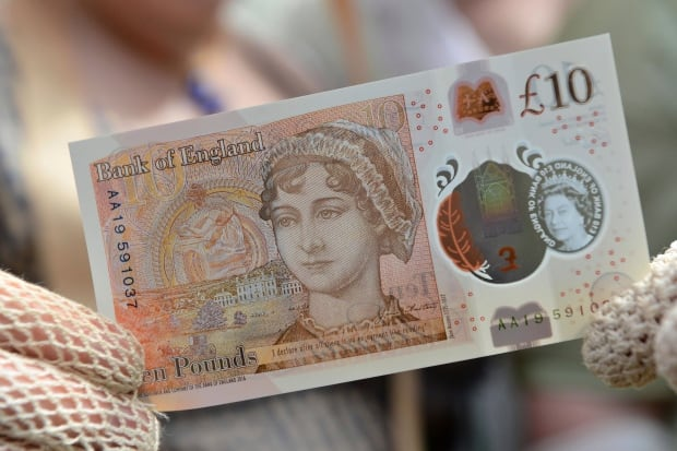 Britain Bank Note Jane Austen