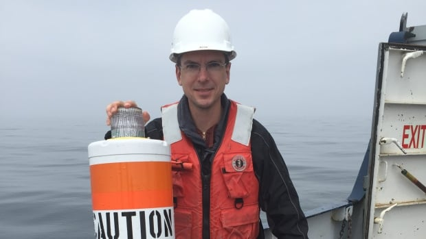 Great Lakes researcher Jay Austin is using a hydrophone to map the underwater soundscape of Lake Superior.