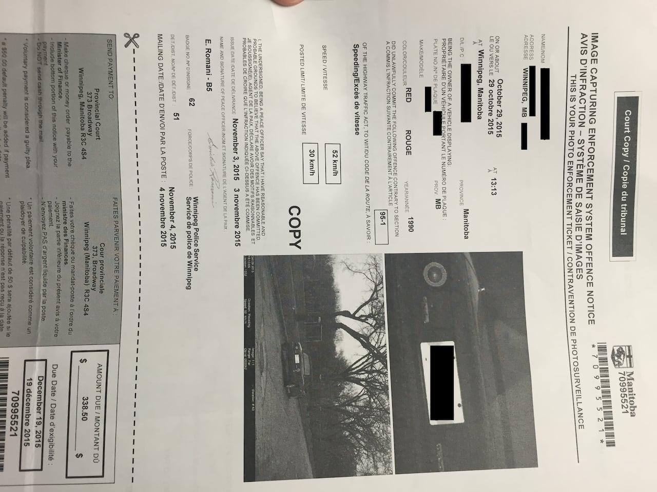 Unfiled paperwork derails traffic ticket challenge under Charter of