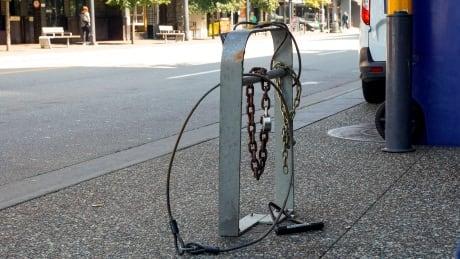 Bike Cycling Theft Biking Path Locks Stolen Vancouver
